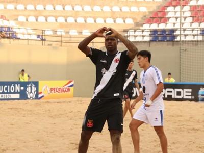 Vasco venceu mais uma na Libertadores de Praia