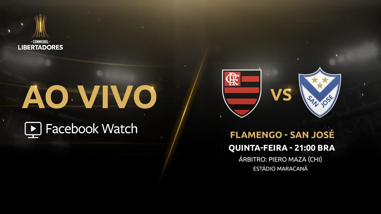 Como Ver Flamengo X San José Ao Vivo Pelo Facebook Watch
