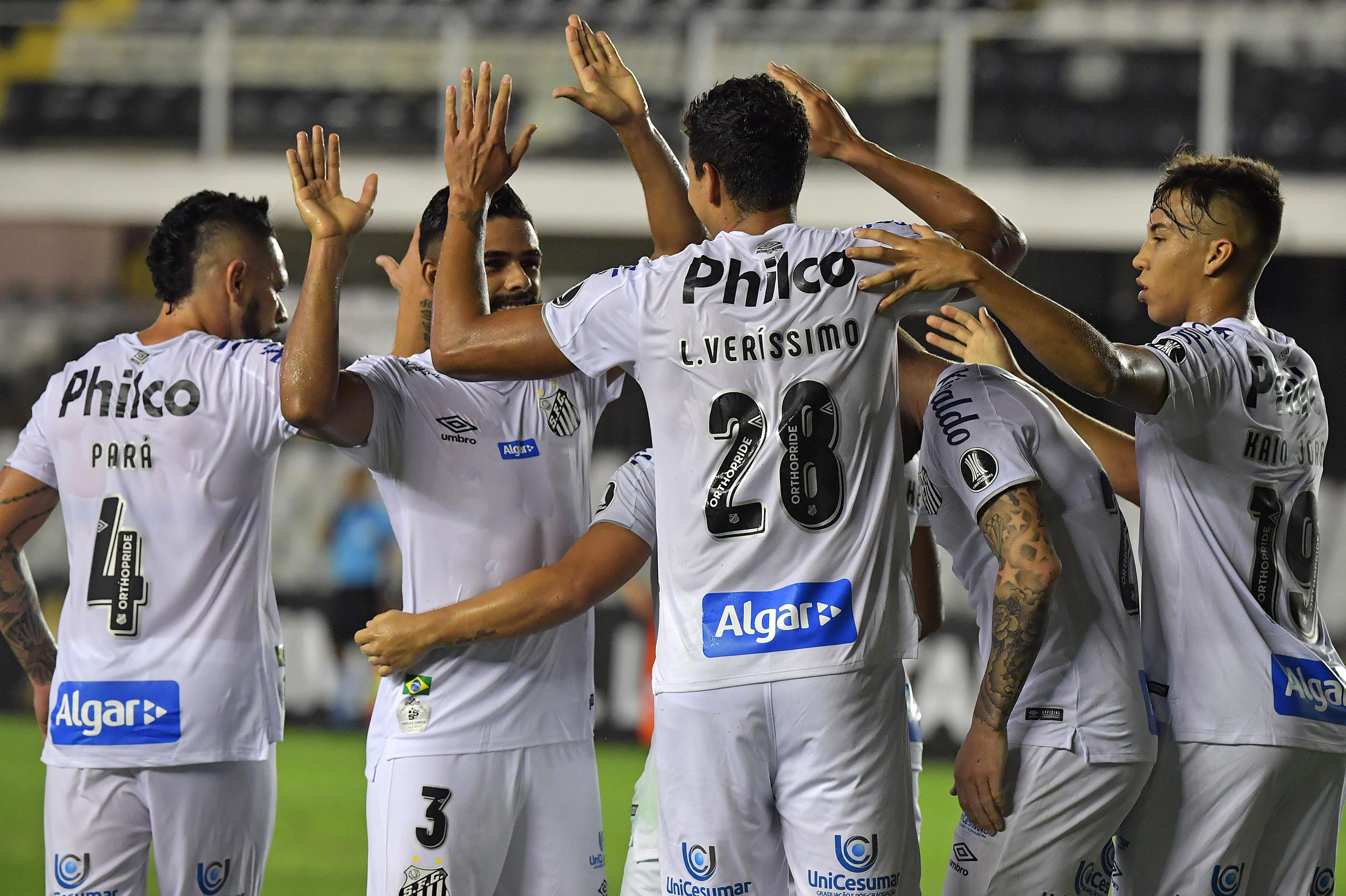 Santos Libertadores 2020