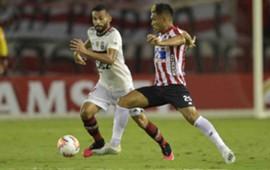 AFP Junior Flamengo Libertadores 2020