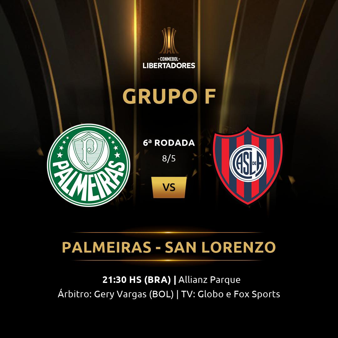 Palmeiras vs San Lorenzo