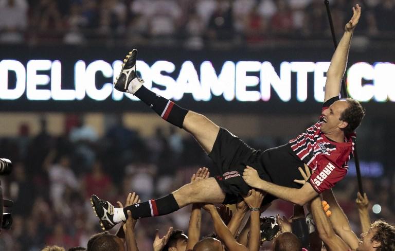 AFP Rogério Ceni despedida