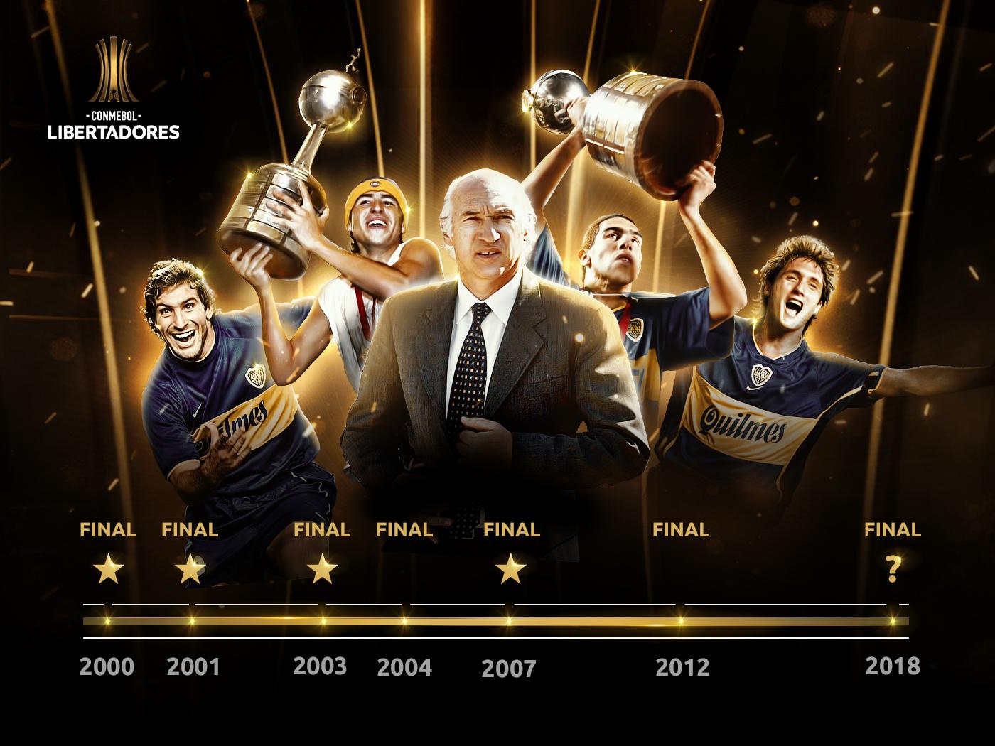 Boca Juniors finales siglo XXI