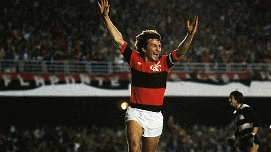 Zico Flamengo 1983