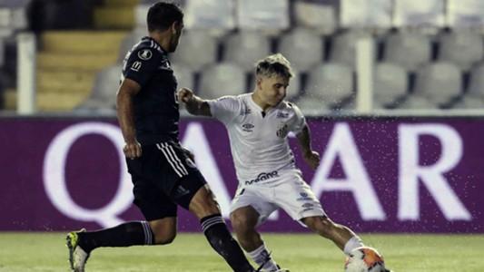 Santos empató con Olimpia