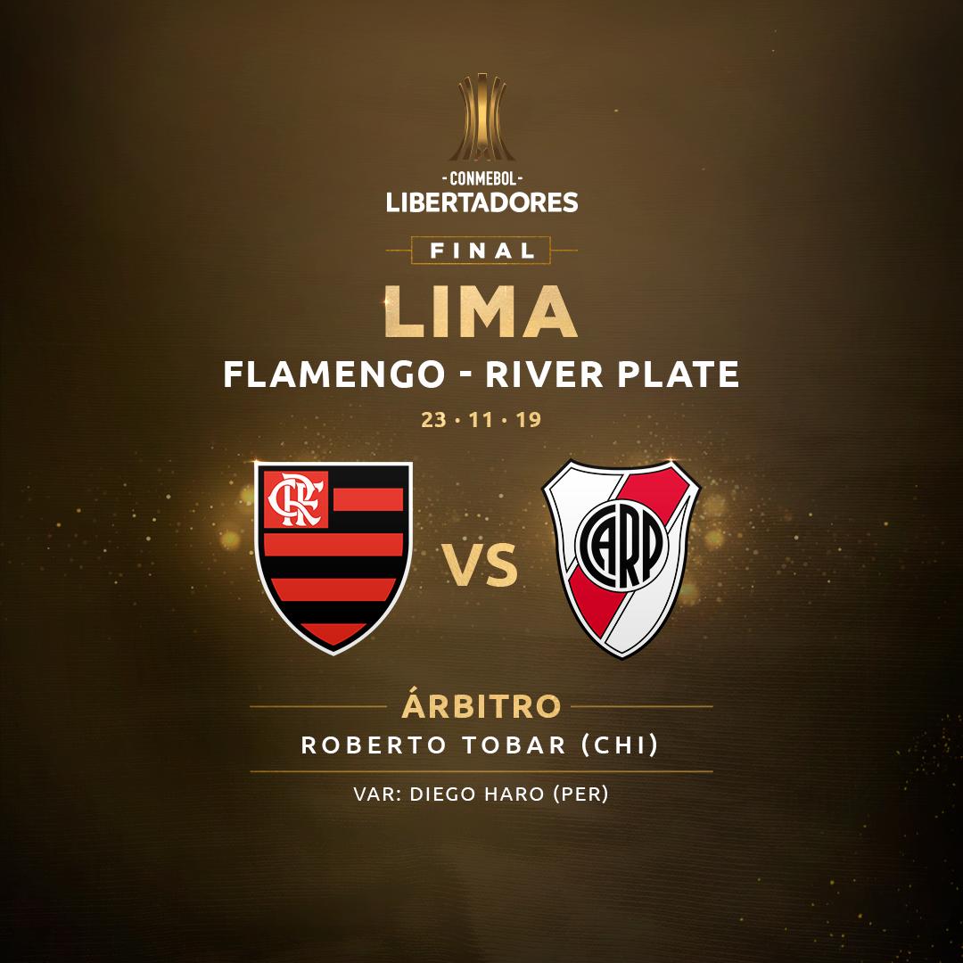 Árbitro - Flamengo x River - Libertadores