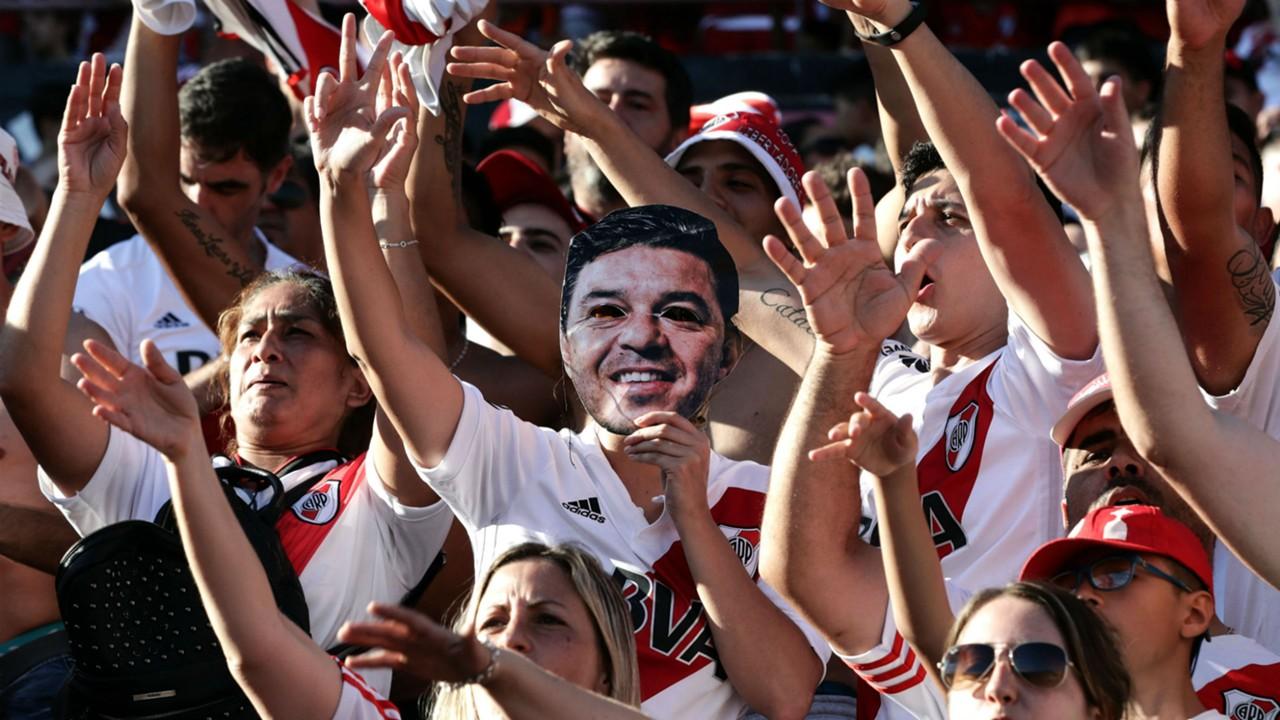 AFP River festejos Monumental Copa Libertadores 2018