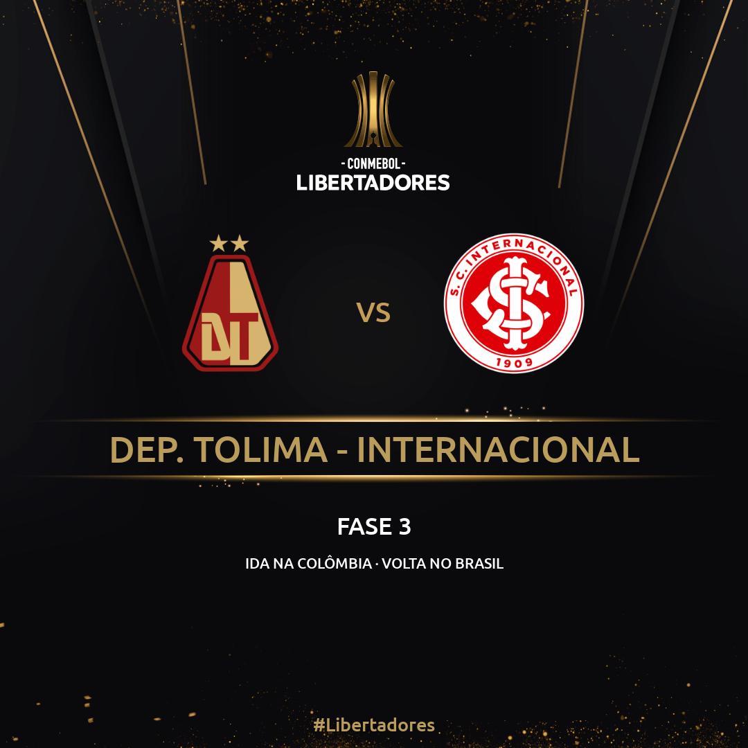 Tolima x Internacional - Libertadores