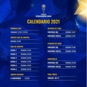 Calendario Sudamericana 2021