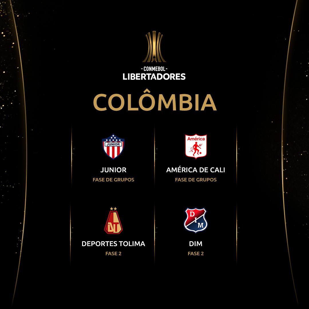 Colômbia - Libertadores
