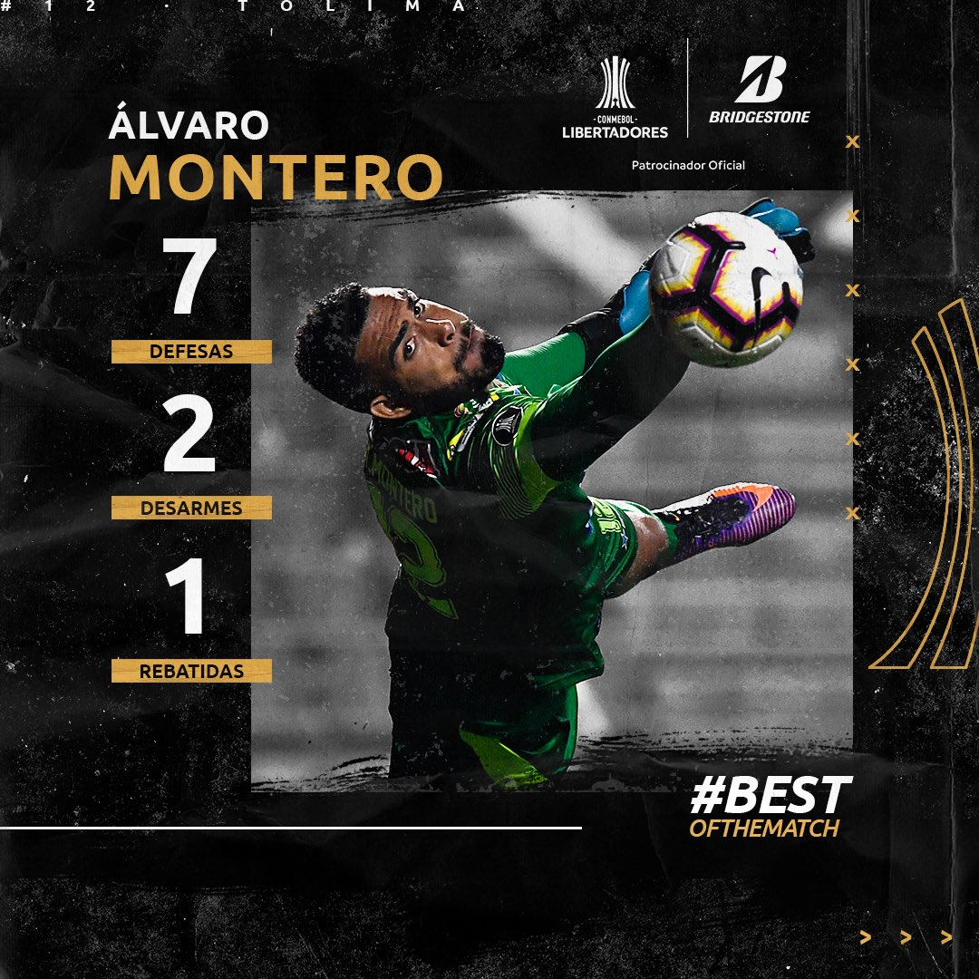 Montero - Craque da Semana 3