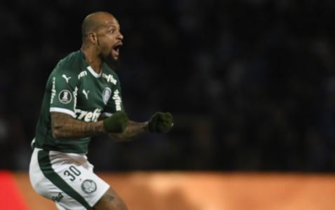 AFP Felipe Melo Palmeiras