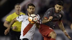 AFP Leonardo Ponzio River Plate Copa Libertadores