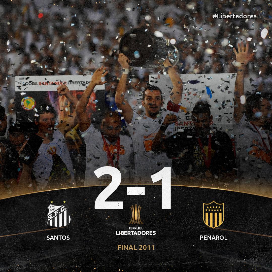 Santos x Peñarol - Libertadores 2011