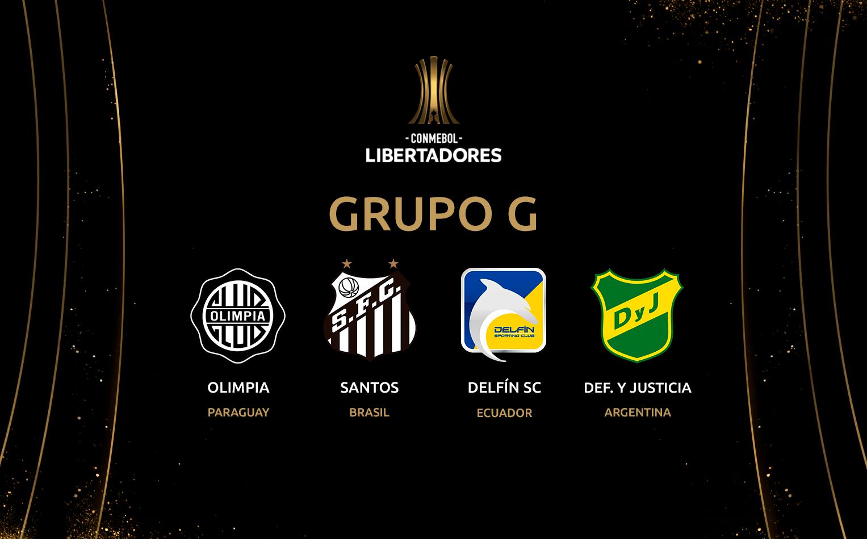 Guía de apuestas Copa Libertadores 2020 - GRUPO G / Fuente: copalibertadores.com