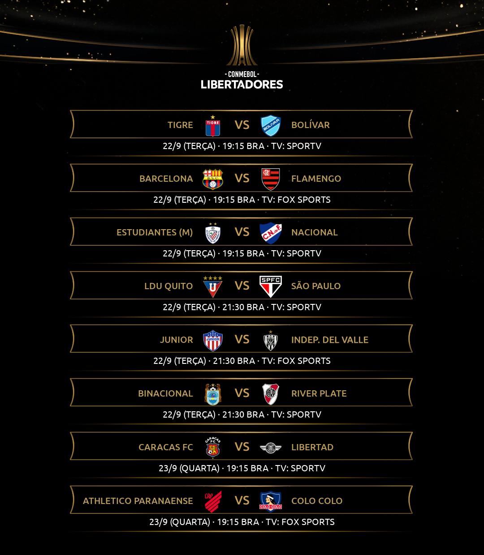 Quarta rodada - Libertadores