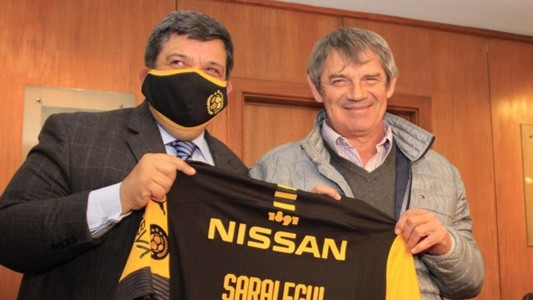 Mario Saralegui Peñarol