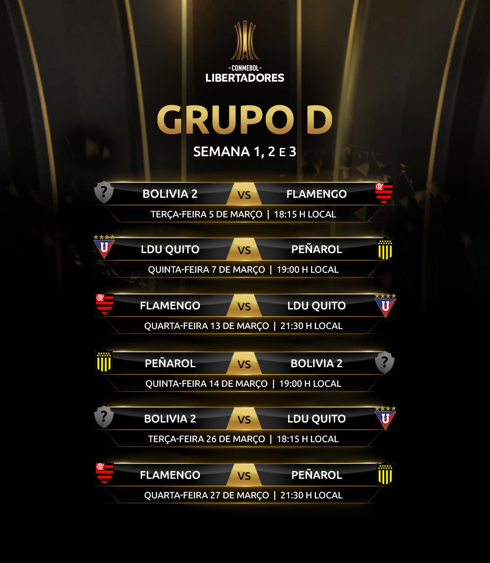 Libertadores 2019 Grupo D ida