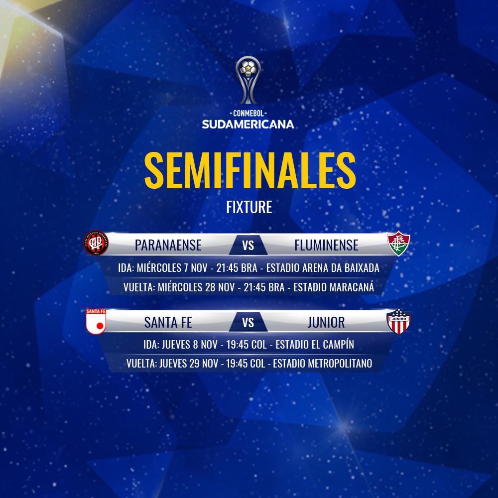 Placa Semifinales Copa CONMEBOL Sudamericana