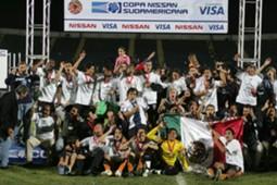Pachuca campeón Sudamericana 2006