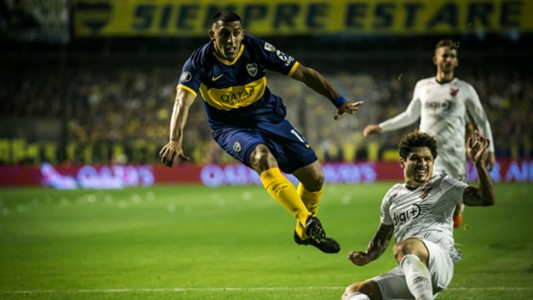Wanchope Ábila Copa Libertadores Boca