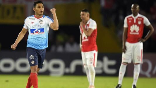 AFP Independiente Santa Fe Copa CONMEBOL Sudamericana 07112018 Teofilo Gutierrez