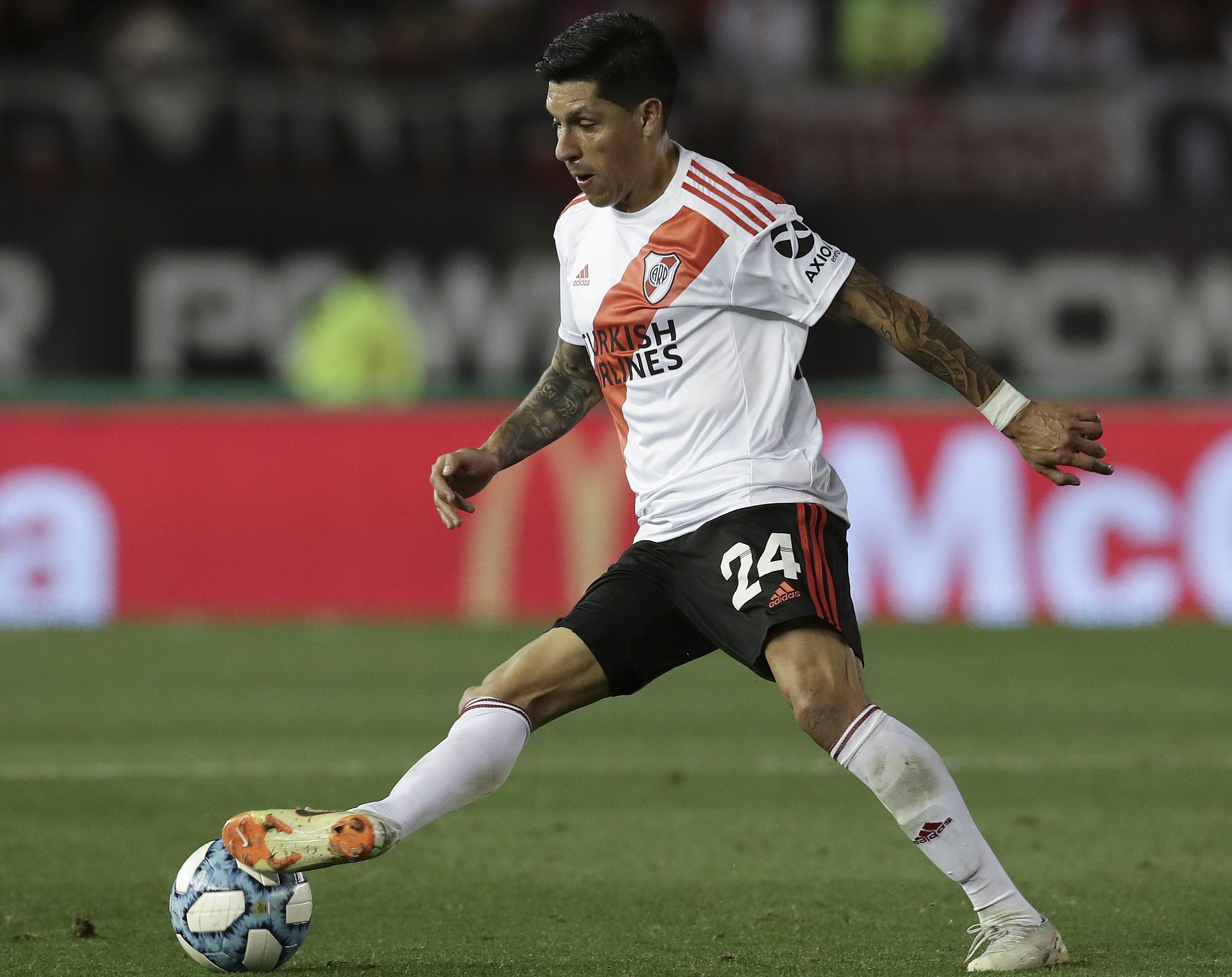 AFP Enzo Pérez River Copa Libertadores