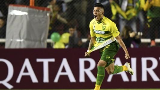 AFP Defensa y Justicia Junior Barranquilla Copa CONMEBOL Sudamericana 01112018 Leonel Miranda