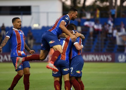 Classificação do Bahia sobre o Nacional