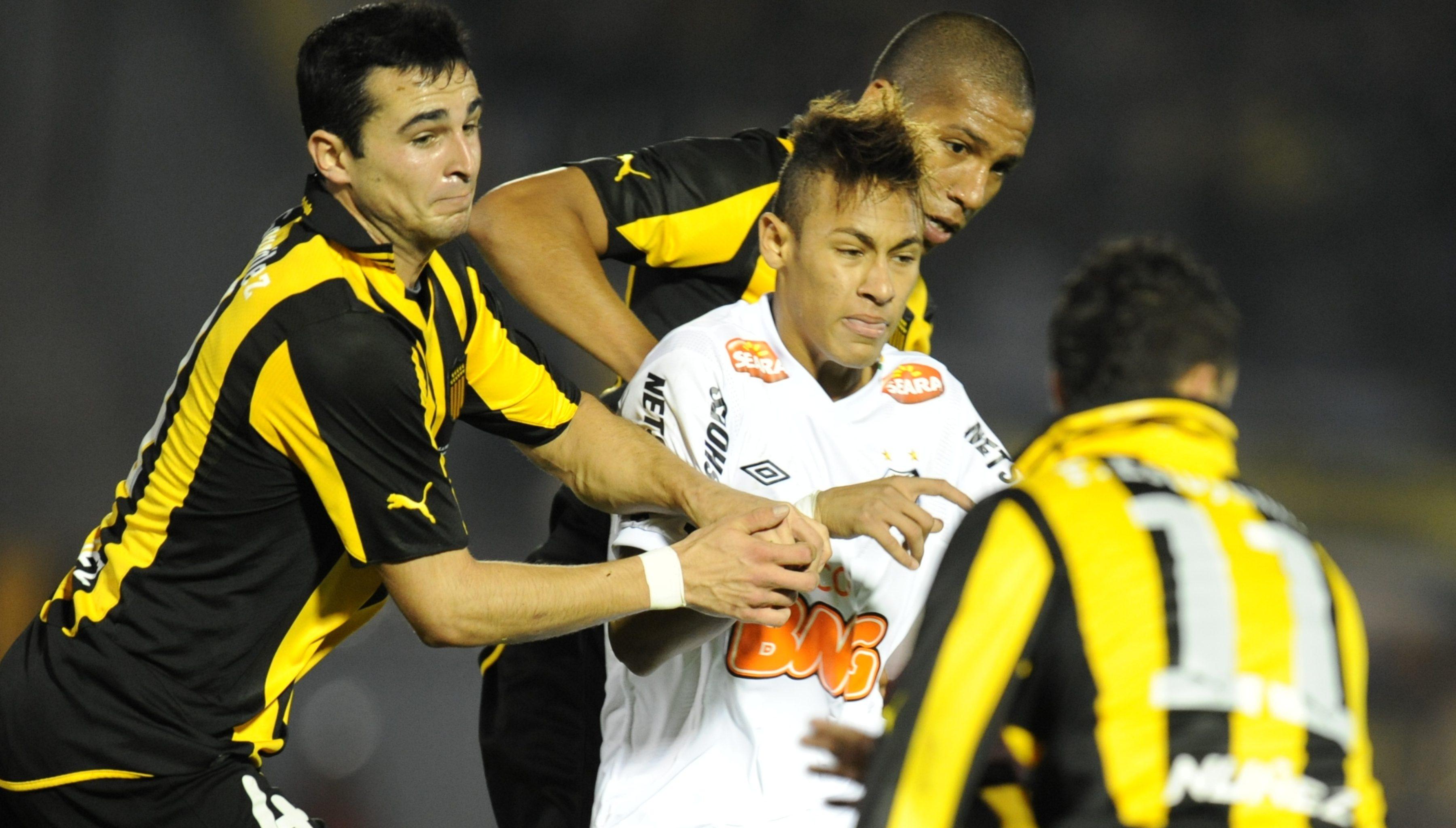 Santos Peñarol Neymar Copa Libertadores 2011