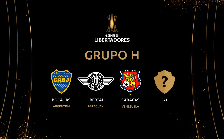Guía de apuestas Copa Libertadores 2020 - GRUPO H / Fuente: copalibertadores.com