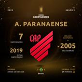 Paranaense Libertadores 2020