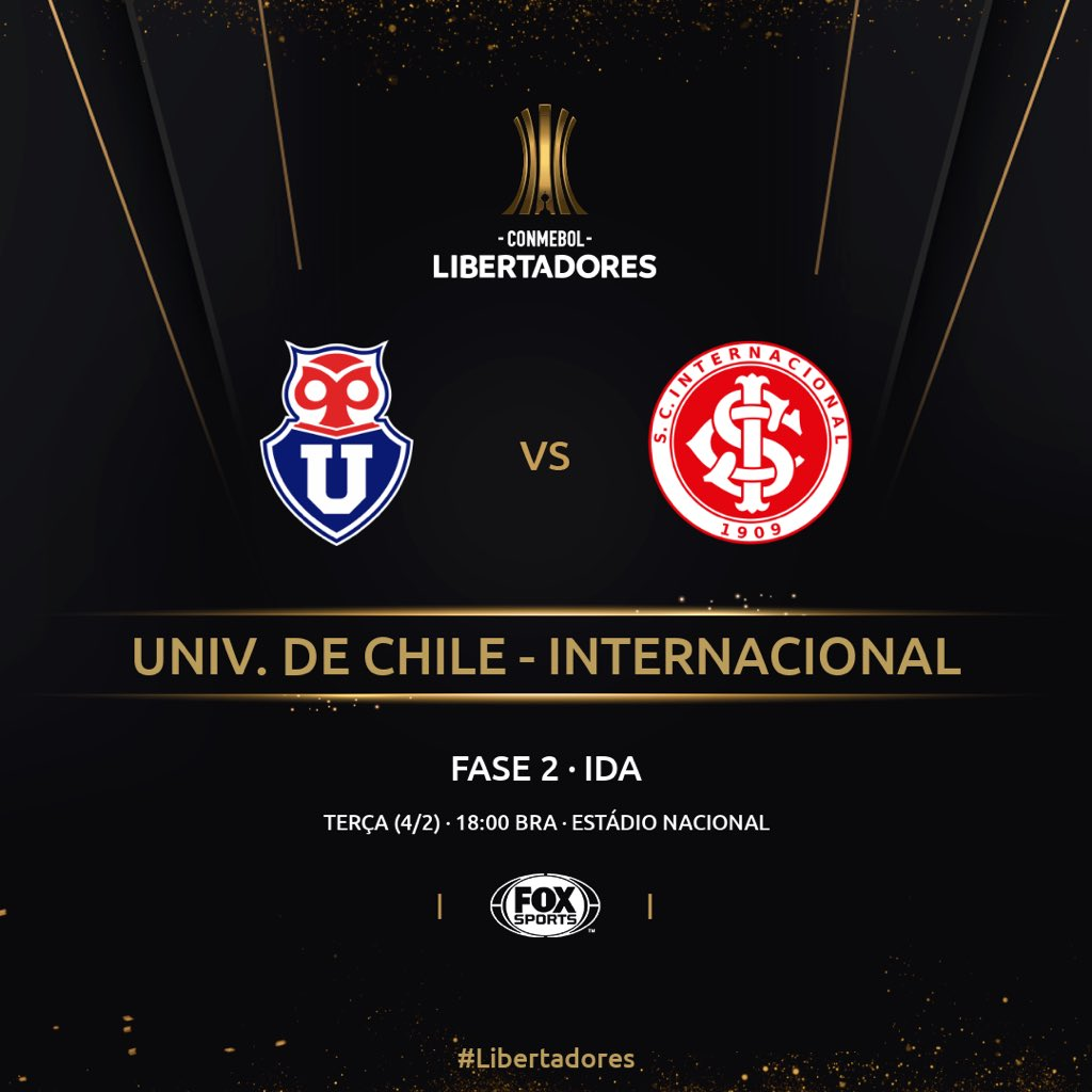 La U x Inter - ida Libertadores