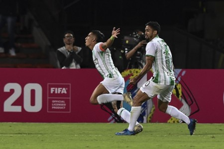 AFP Atlético Nacional Huracán Sul-Americana 2020
