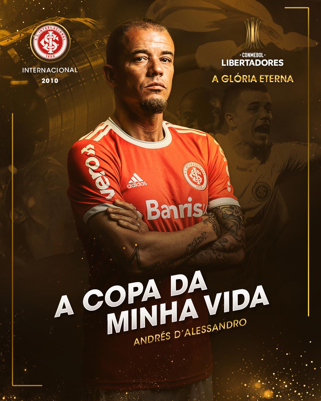 D'Alessandro - A Copa da Minha Vida - Internacional 2010