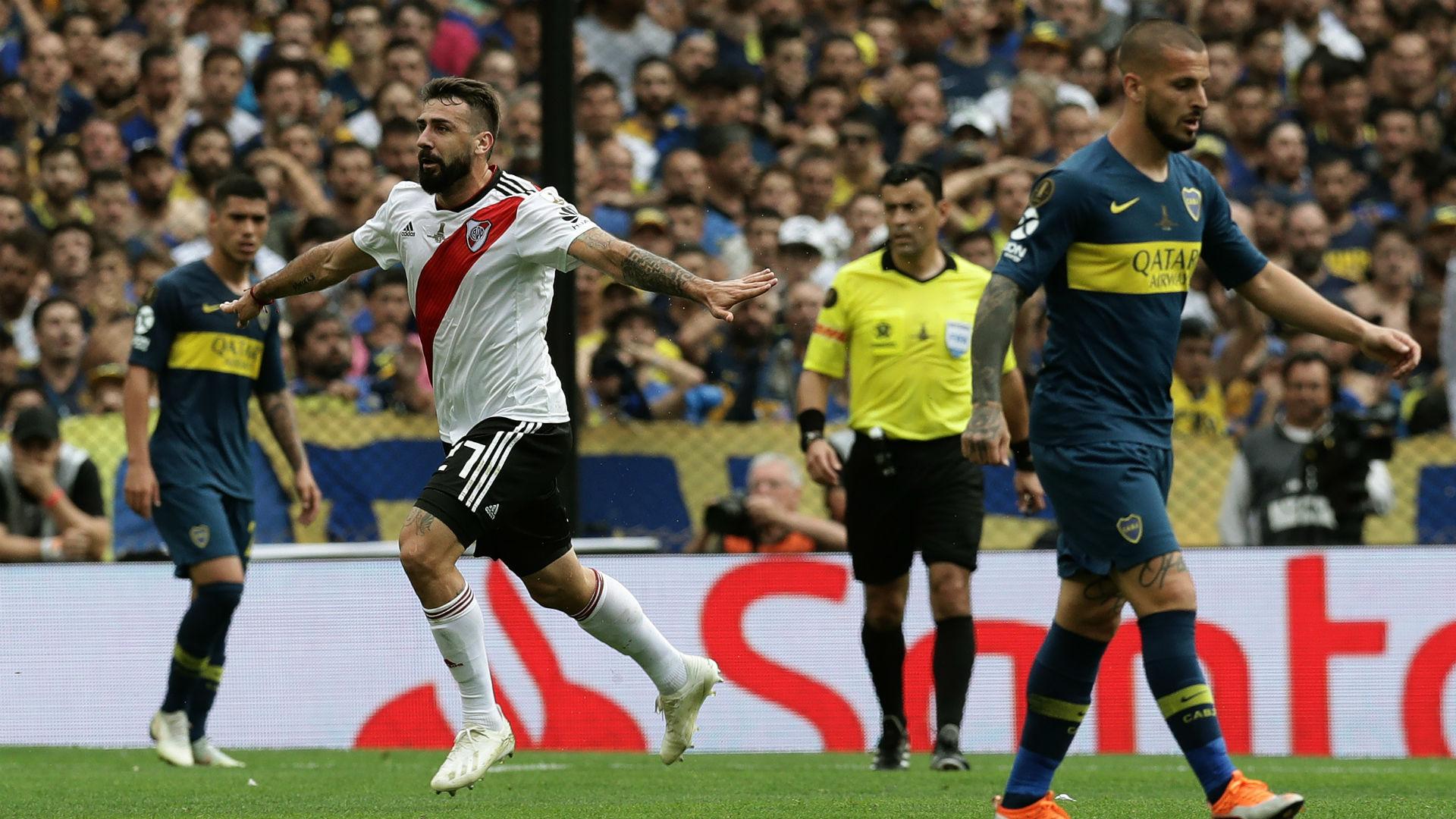 AFP Boca Juniors River Plate Copa CONMEBOL Libertadores 11112018 Lucas Pratto