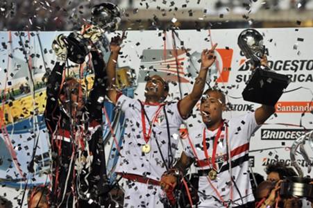 Sao Paulo final sudamericana 2012