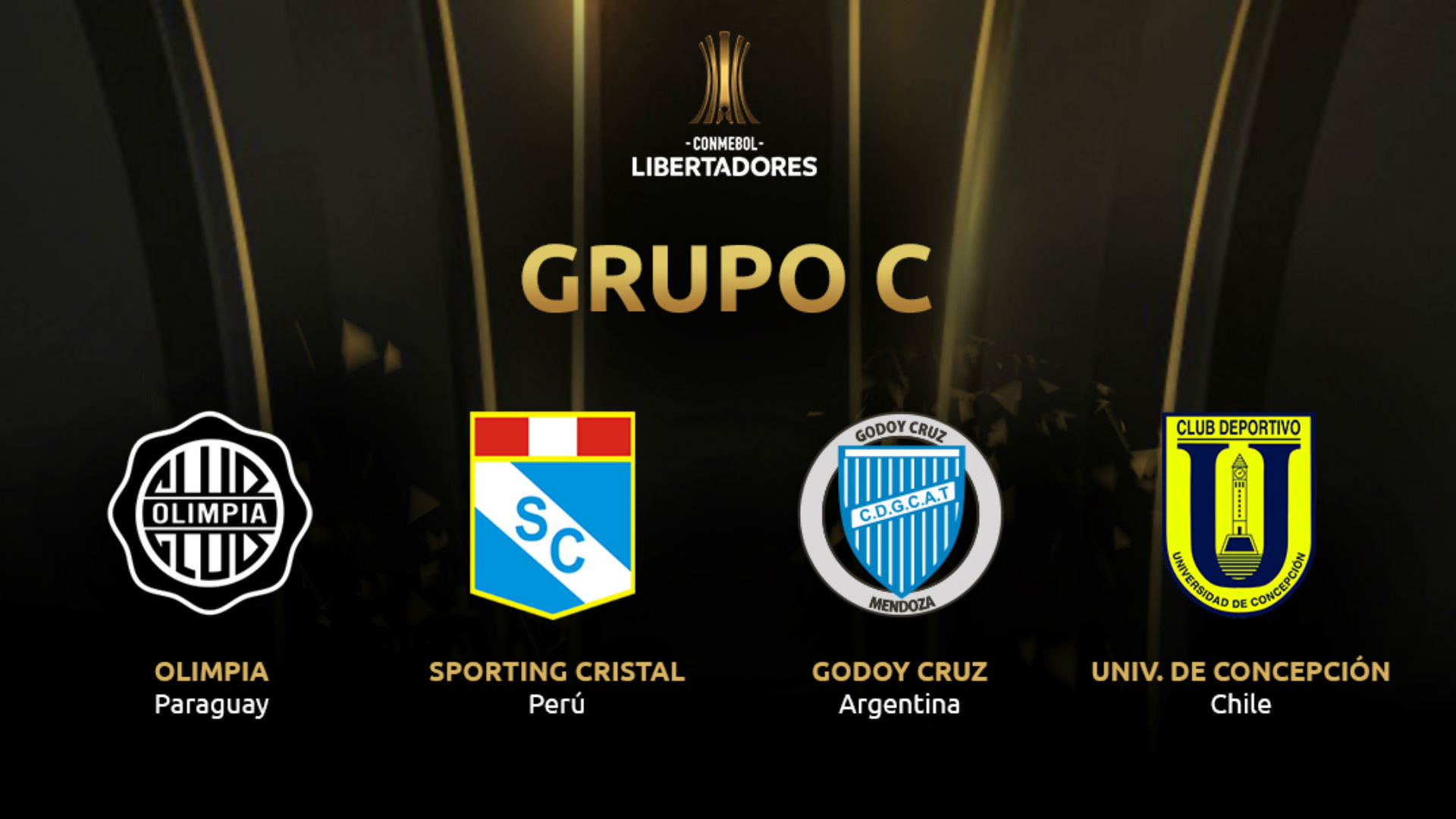 Grupo C Copa Libertadores 2019