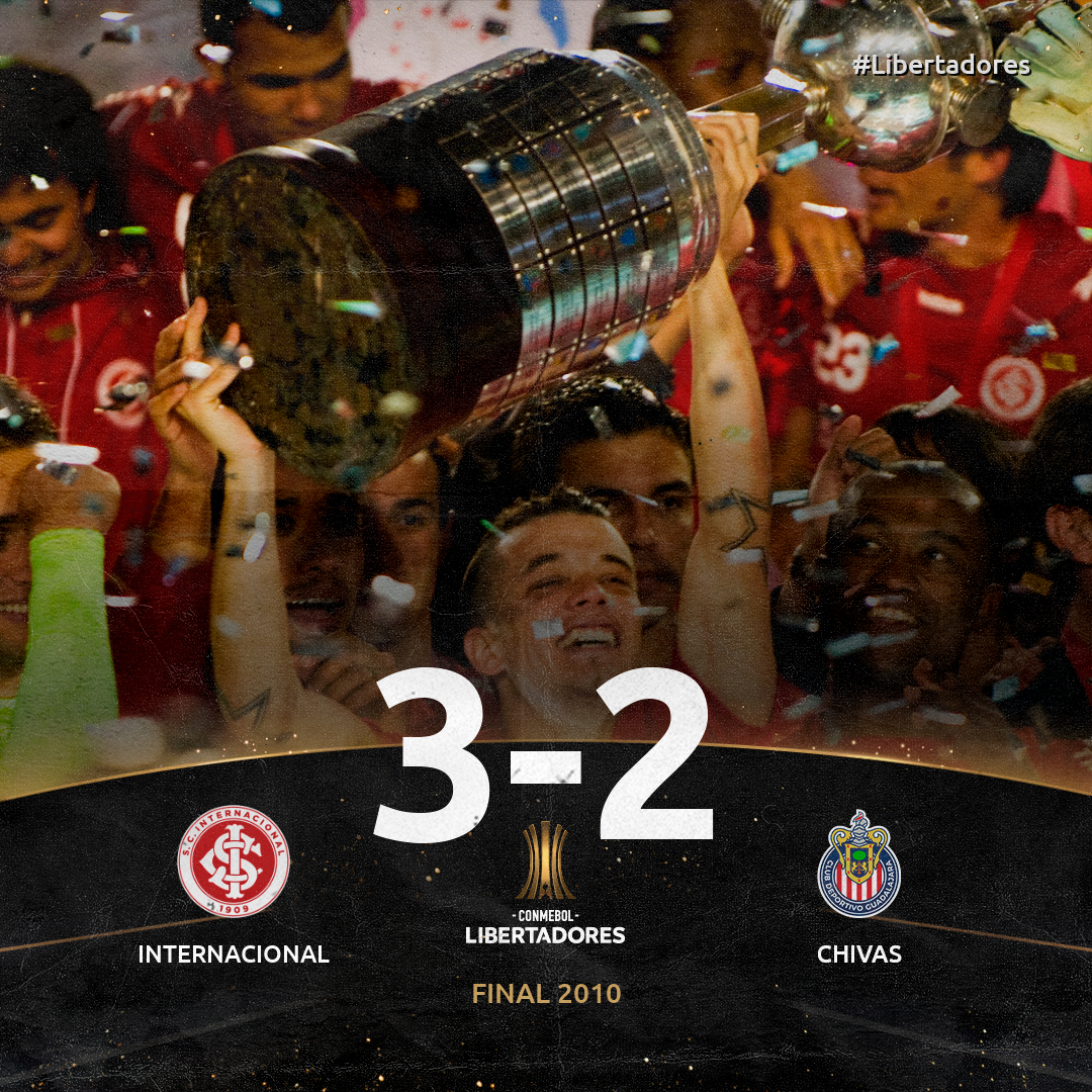 Inter x Chivas - Libertadores 2010