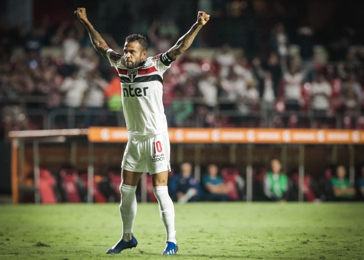 São Paulo - Libertadores - Daniel Alves