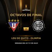 Liga de Quito Olimpia Copa Libertadores 2019