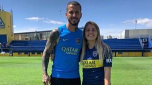 Dario Benedetto Camila Gomez Ares Boca Juniors