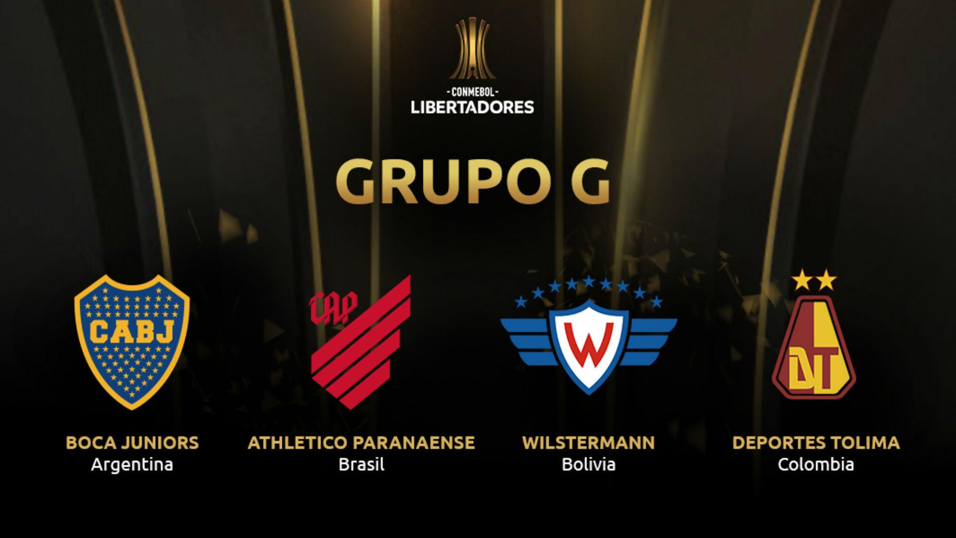 Grupo G Copa Libertadores 2019