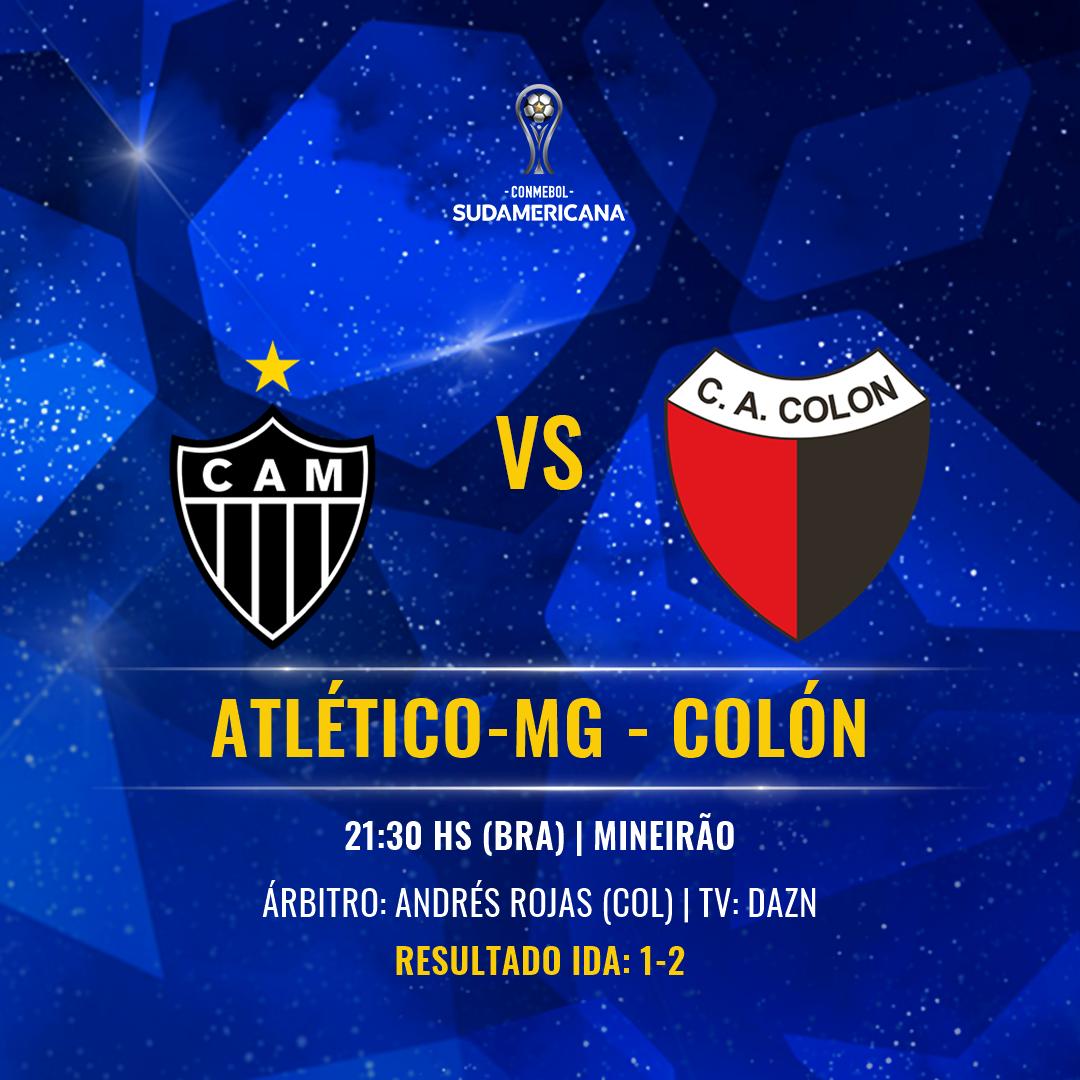 Atlético-MG x Colon