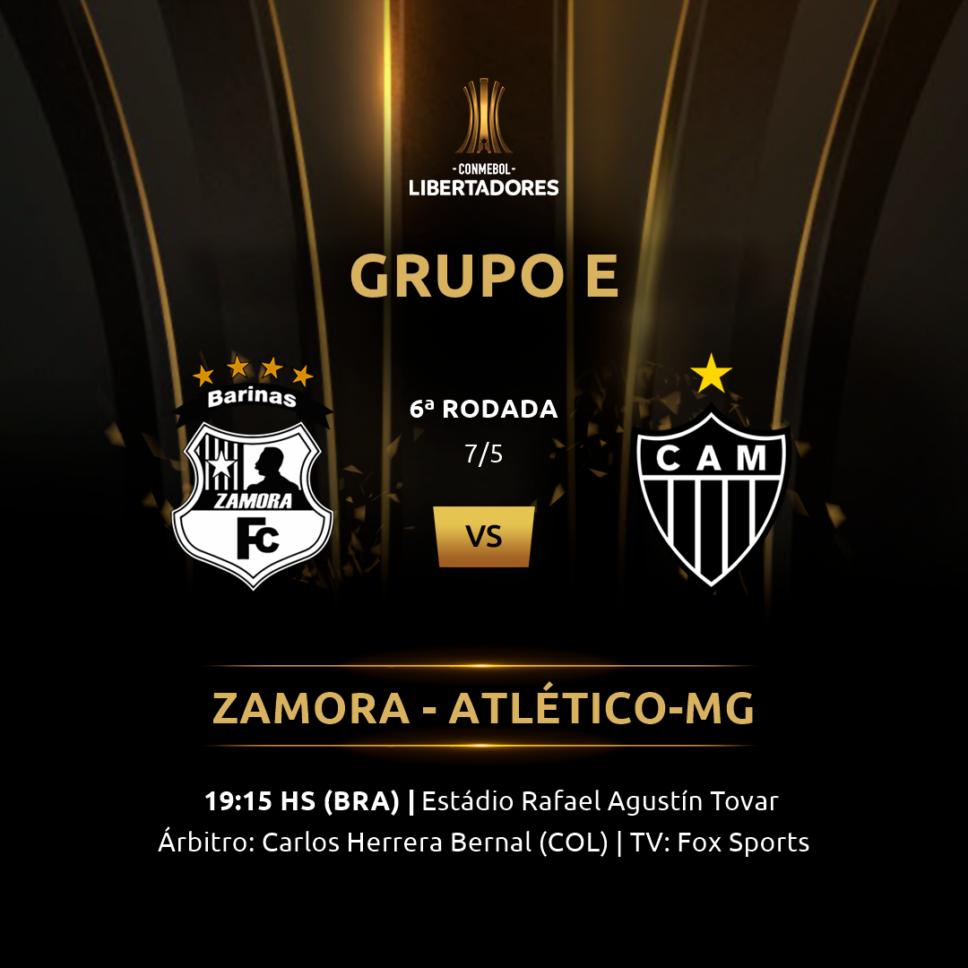 Zamora vs Atlético-MG