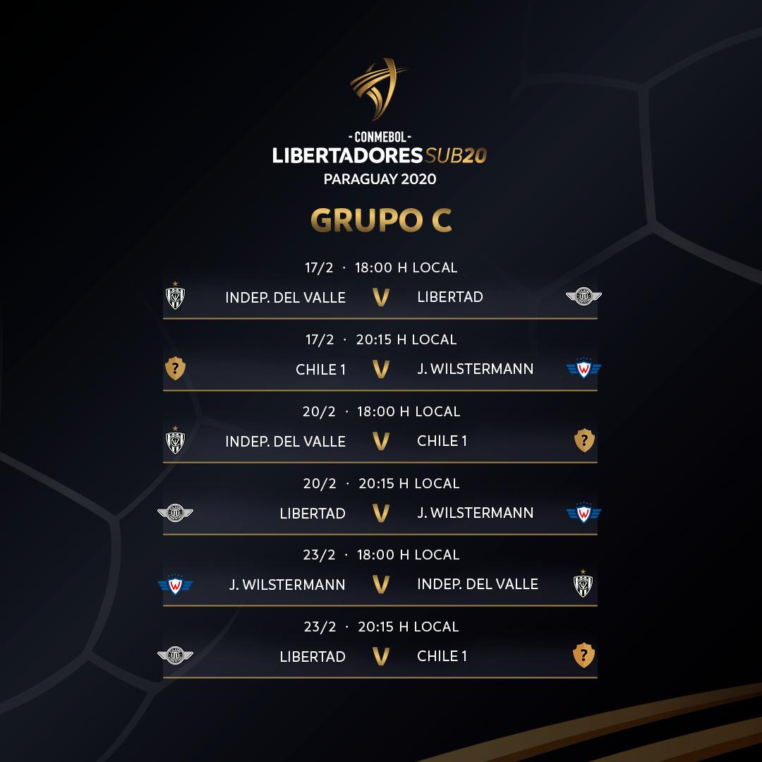 Grupo C Libertadores Sub-20
