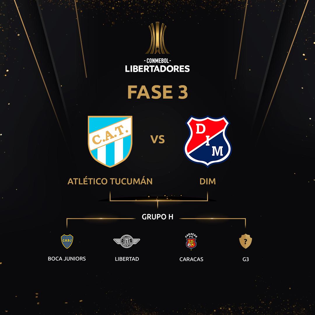 Fase 3 - Grupo H Libertadores