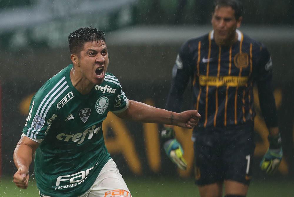 Cristaldo Palmeiras Copa Libertadores