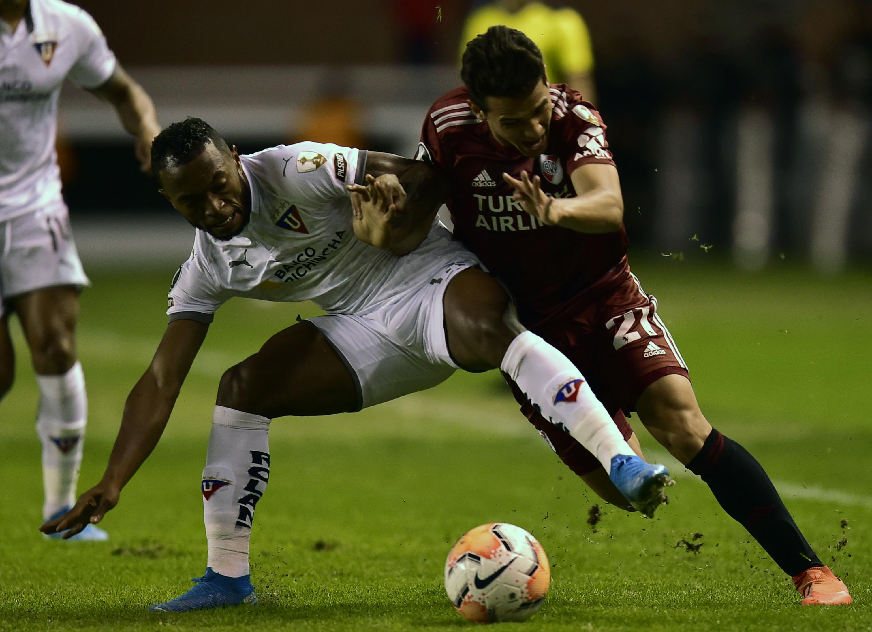 Liga de Quito - River Plate Fase de Grupos 2020