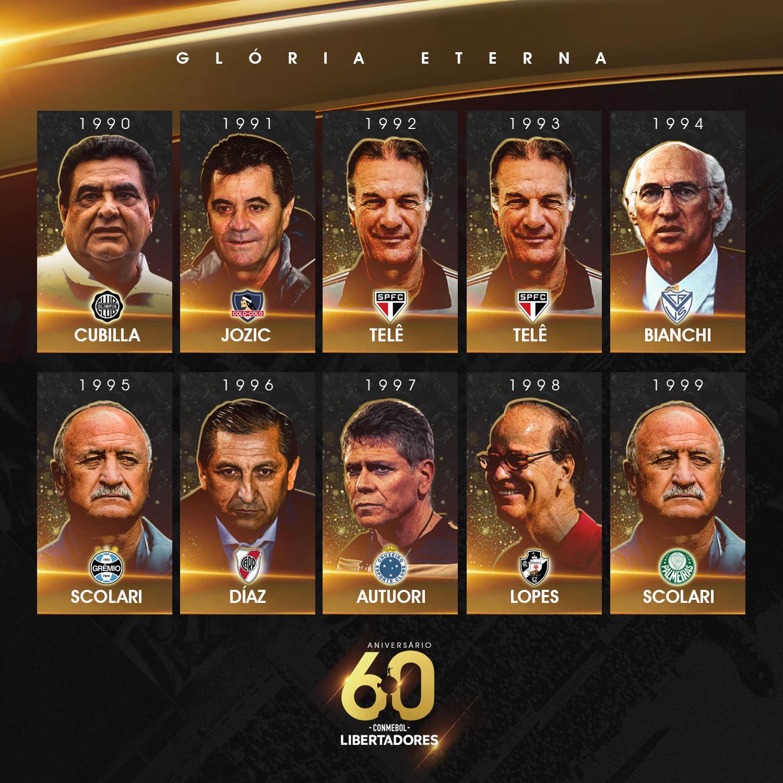 Técnicos Libertadores 1990-99